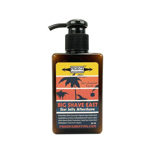 Big Shave East Star Jelly | Frangipani, Tobacco & Apricot | Lightly Mentholated | 150 Ml - Phoenix Artisan Accoutrements