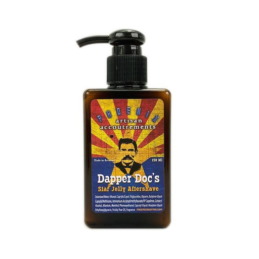Dapper Doc's Star Jelly Aftershave ~ A Whole New Species of Aftershave - Lightly Mentholated - Phoenix Artisan Accoutrements