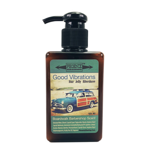 Good Vibrations Star Jelly Aftershave ~ A Whole New Species of Aftershave - Mentholated | 150 Ml - Phoenix Artisan Accoutrements
