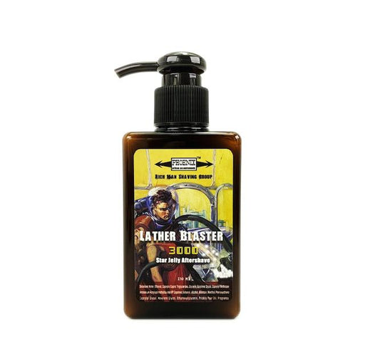 Lather Blaster 3000 Epic Star Jelly Aftershave ~ A Whole New Species of Aftershave! - Phoenix Artisan Accoutrements