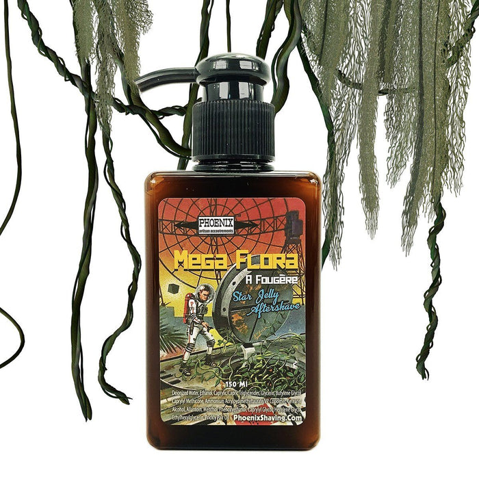 Mega Flora Star Jelly Aftershave ~ A Whole New Species of Aftershave! - Phoenix Artisan Accoutrements