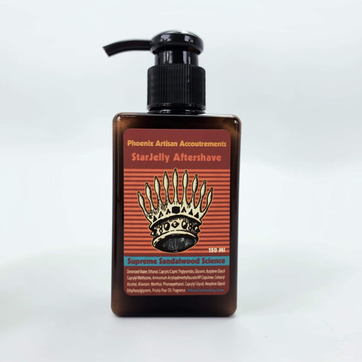 Supreme Sandalwood Science Star Jelly Aftershave ~ A Whole New Species of Sandalwood! - Phoenix Artisan Accoutrements