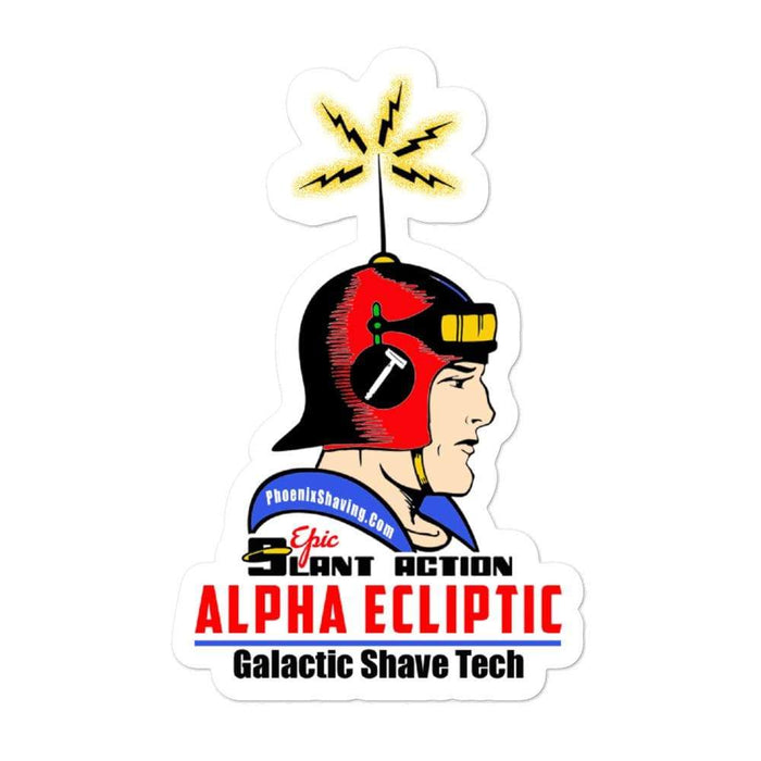 Alpha Ecliptic Vinyl Sticker | 3 Sizes - Phoenix Artisan Accoutrements