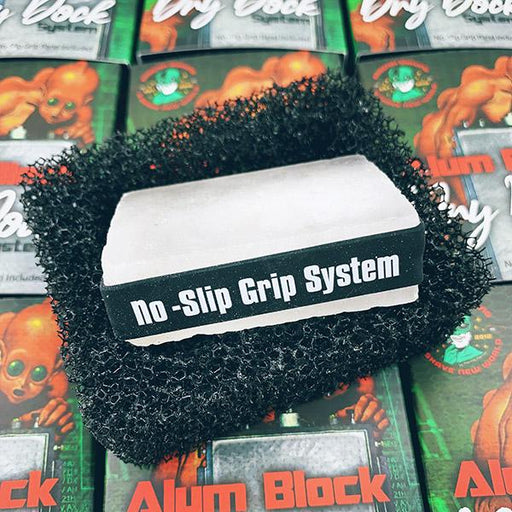 Alum Block Dry Dock System | with or without 3.65 Oz Alum Block [103 Grams] - Phoenix Artisan Accoutrements