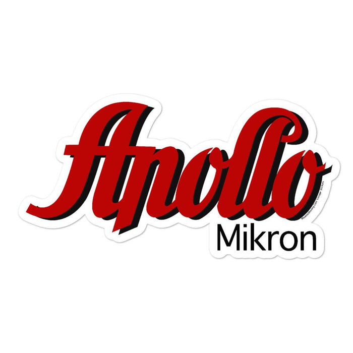 Apollo Mikron Vinyl Bubble-Free Stickers | Available in 3 Sizes - Phoenix Artisan Accoutrements