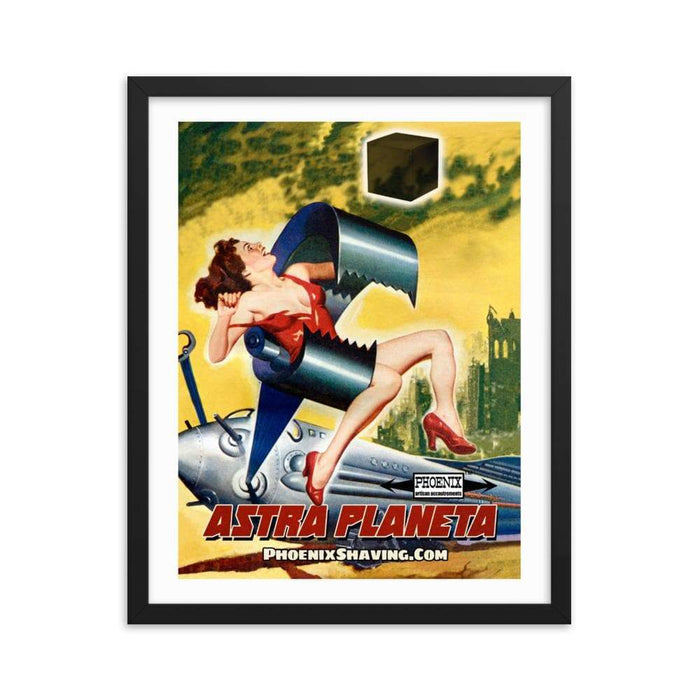 Astra Planeta Framed Print - Phoenix Artisan Accoutrements