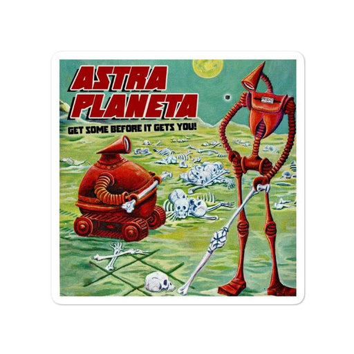 Astra Planeta Vinyl Bubble-Free Stickers | Available in 3 Sizes! - Phoenix Artisan Accoutrements