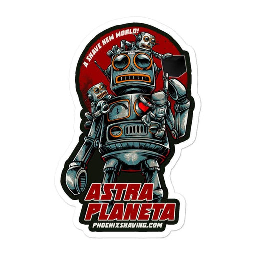 Astra Planeta Vinyl Sticker | 3 Sizes - Phoenix Artisan Accoutrements