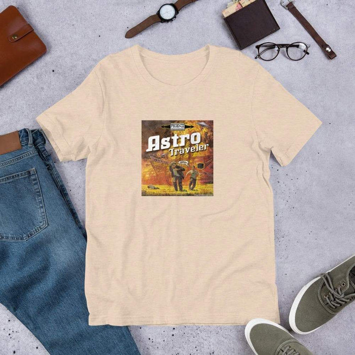 "Astro Traveler ""Close Shave"" Short-Sleeve Unisex T-Shirt - Phoenix Artisan Accoutrements"
