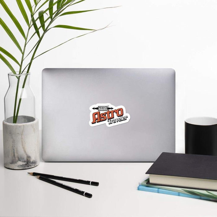 Astro Traveler Vinyl Bubble-free stickers | Available in 3 Sizes - Phoenix Artisan Accoutrements
