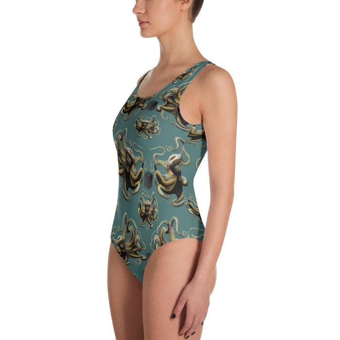 Atomic Age Bay Rum One-Piece Swimsuit (Bikini dept) - Phoenix Artisan Accoutrements