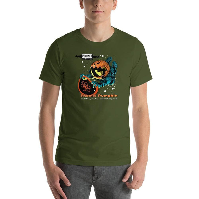 Atomic Pumpkin Short-Sleeve Unisex T-Shirt - Phoenix Artisan Accoutrements