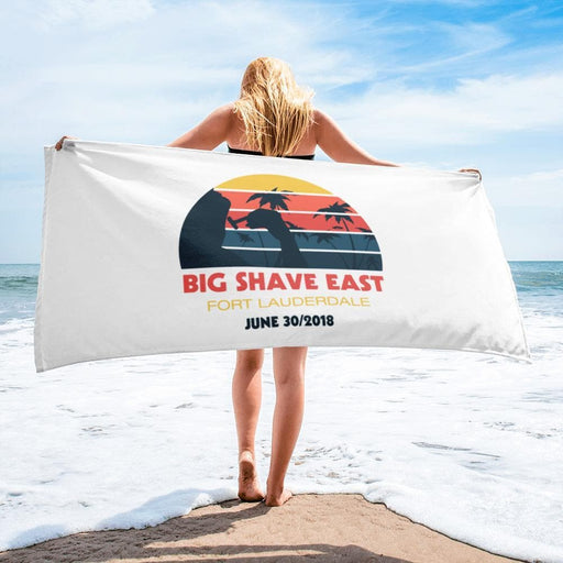 Official Big Shave East Beach Towel - Thanks For Your Support! - Phoenix Artisan Accoutrements