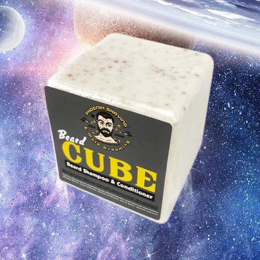 Beard CUBE Shampoo & Conditioner - Contains Yucca Root, Manuka Honey & Cider Vinegar - Phoenix Artisan Accoutrements