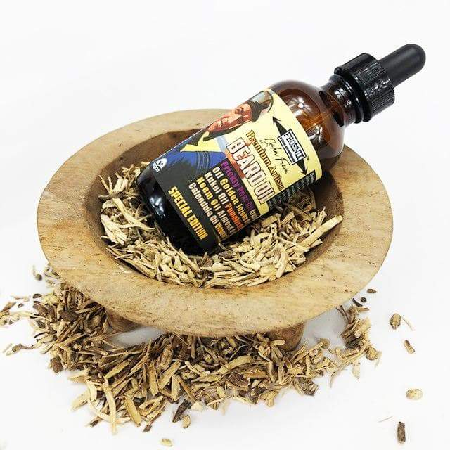 John Frum Premium Beard Oil (or Preshave Oil) - Special Edition - Phoenix Artisan Accoutrements