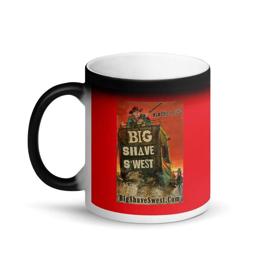 Big Shave S'west 20/20 Matte Black Magic Coffee Mug - Phoenix Artisan Accoutrements