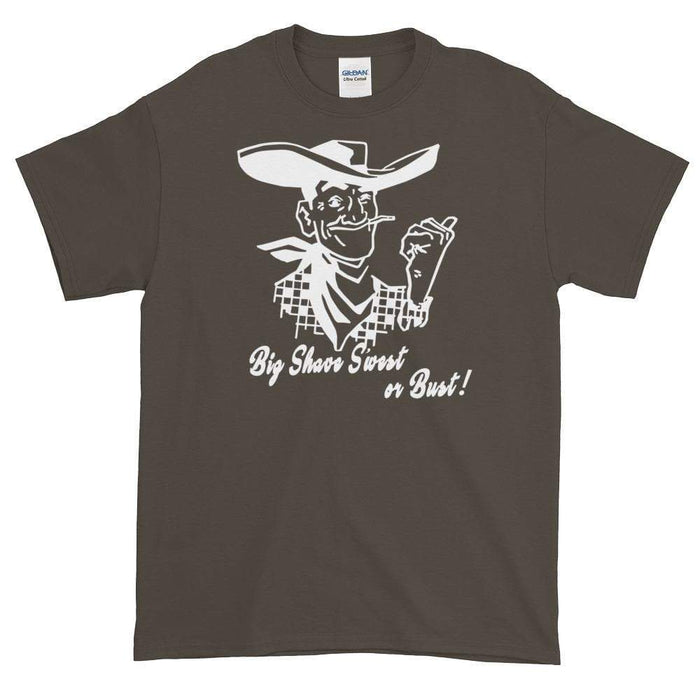 Big Shave S'west or Bust 2 Short-Sleeve T-Shirt - Phoenix Artisan Accoutrements