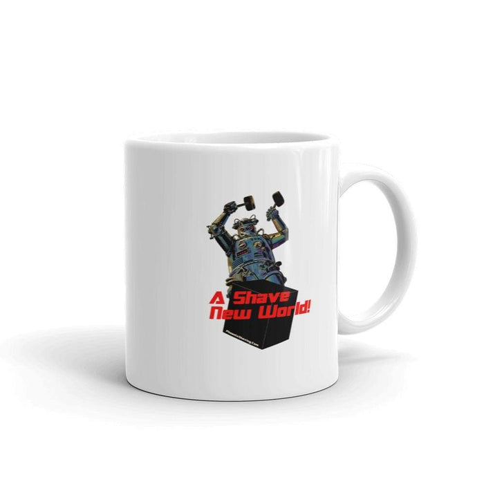 Black Bot Coffee Mug - Phoenix Artisan Accoutrements