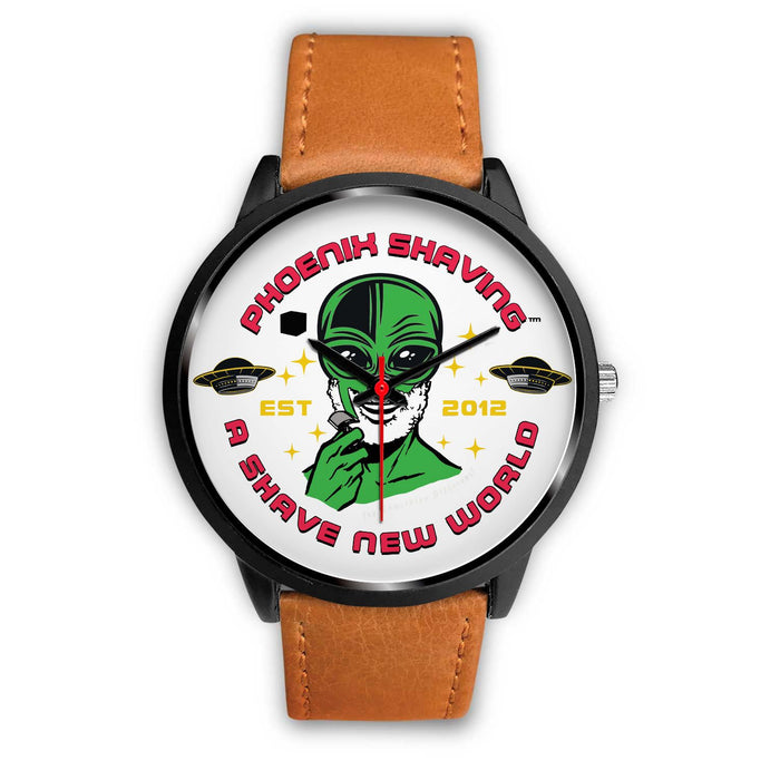 Phoenix Shaving Alien Wristwatch | Choose Band Option - Phoenix Artisan Accoutrements