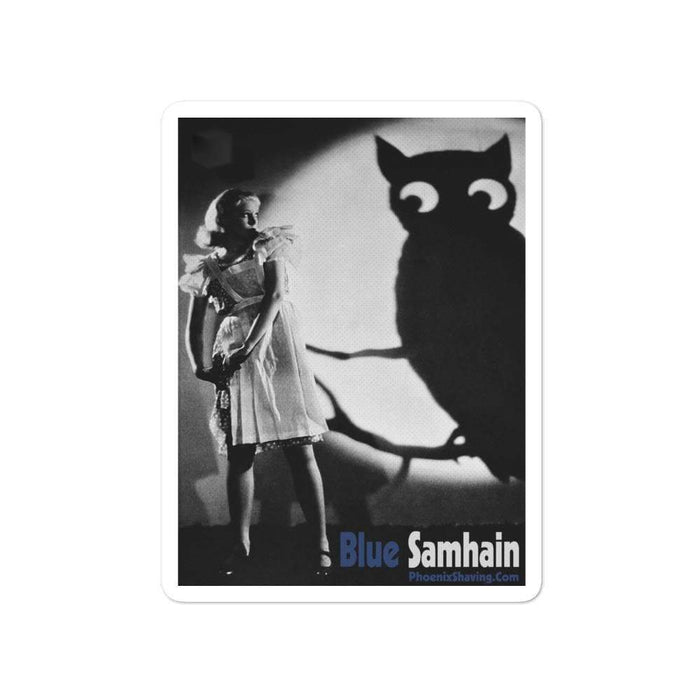 Blue Samhain Vinyl Bubble-Free Stickers | Available in 3 Sizes - Phoenix Artisan Accoutrements