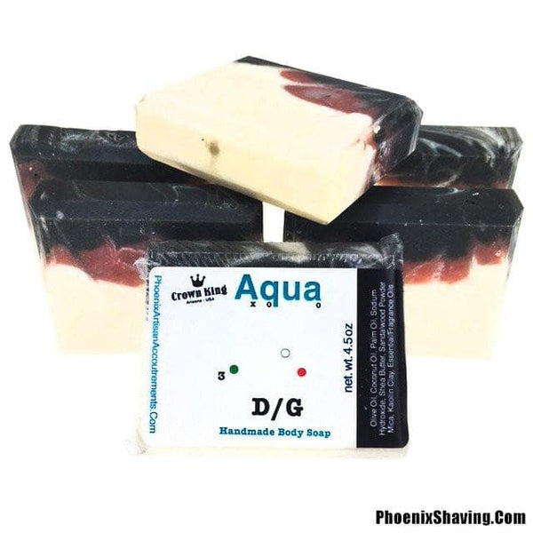 Body Soap - Aqua D/G Handmade Body Soap