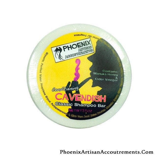 Cavendish Conditioning Shampoo Puck (W/ Manuka Honey & Cider Vinegar) - Phoenix Artisan Accoutrements