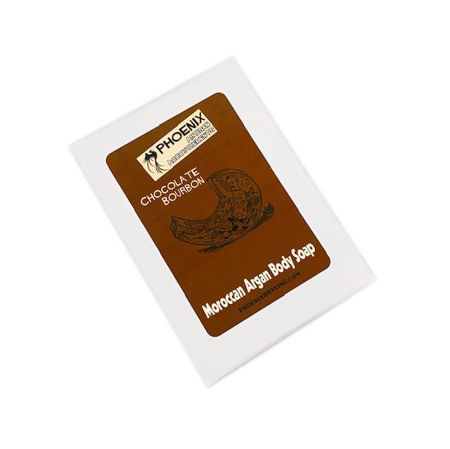 Chocolate Bourbon Moroccan Argan Oil Body Soap - Simply Delicious! - Phoenix Artisan Accoutrements