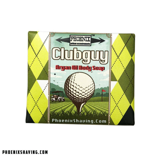 Clubguy Moroccan Argan Oil Body Soap - Homage to Clubman! - Phoenix Artisan Accoutrements