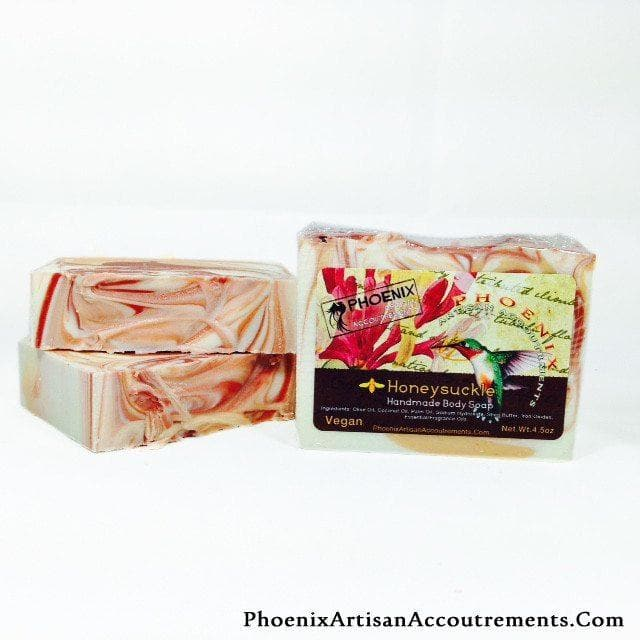 Honeysuckle Artisan Body Soap - Phoenix Artisan Accoutrements