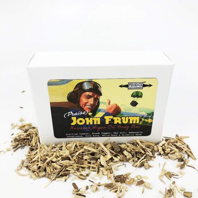 John Frum Moroccan Argan Oil Body Soap - Your New Favorite Musk! - Phoenix Artisan Accoutrements