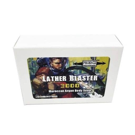 Lather Blaster 3000 Moroccan Argan Oil Body Soap ~ Official Rich Man Strong Scent - Phoenix Artisan Accoutrements