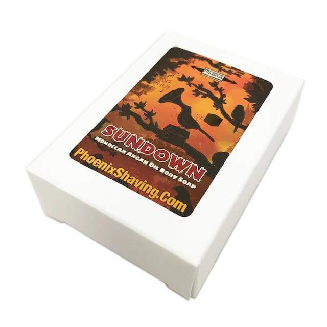 Sun Down Argan Oil Body Soap ~ An Homage to Sun Up - Phoenix Artisan Accoutrements