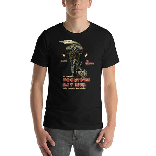Boomtown Bay Rum Short-Sleeve Unisex T-Shirt - Phoenix Artisan Accoutrements
