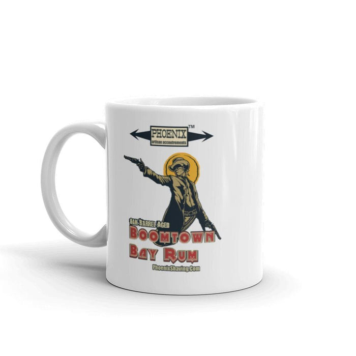 "Boomtown Bay Rum ""The Bad"" Mug - Phoenix Artisan Accoutrements"
