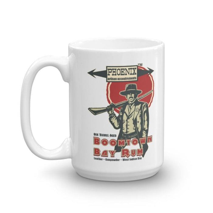 "Boomtown Bay Rum ""The Good"" Mug - Phoenix Artisan Accoutrements"