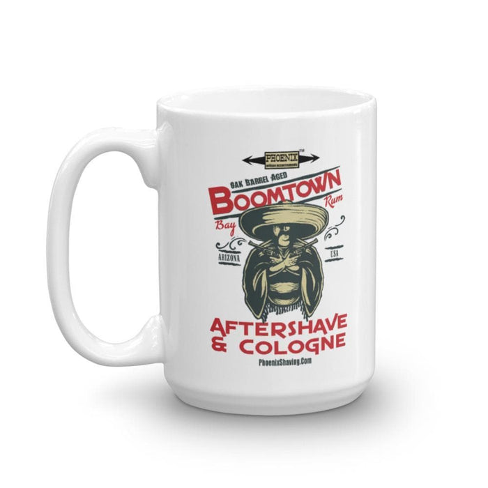 "Boomtown Bay Rum ""The Ugly"" Mug - Phoenix Artisan Accoutrements"