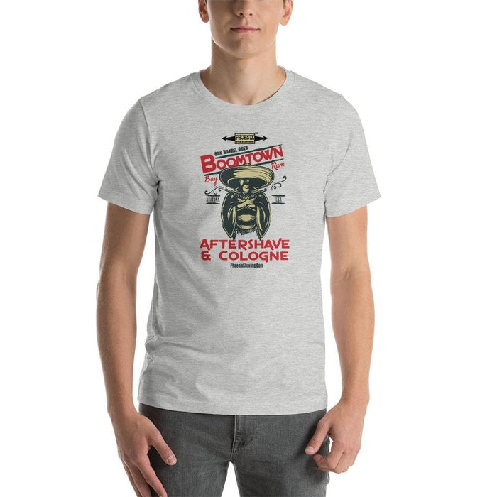 "Boomtown Bay Rum ""The Ugly"" Short-Sleeve Unisex T-Shirt - Phoenix Artisan Accoutrements"