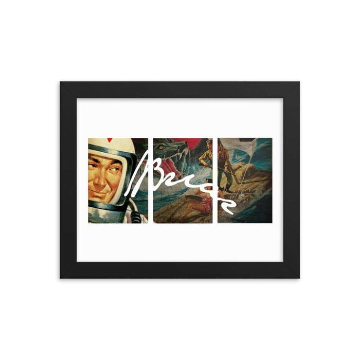 Briar Framed Print - Phoenix Artisan Accoutrements