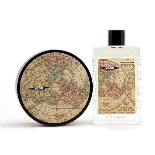 AGHARTA Artisan Shave Soap & Aftershave Bundle Deal! | Distinctive, Bold & Adventurous! - Phoenix Artisan Accoutrements