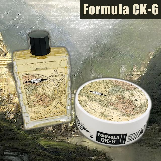 AGHARTA Artisan Shaving Soap & Aftershave Bundle Deal - Ultra Premium CK-6 Formula - 5 Oz - Phoenix Artisan Accoutrements