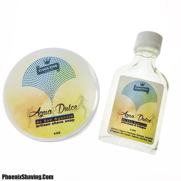 Bundles - Agua Dulce De San Agustín Artisan Shave Soap & Aftershave/Cologne - (Florida Water) Bundle Deal