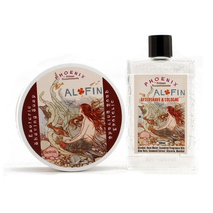 Al Fin Artisan Shave Soap & Aftershave Cologne - Bundle - Phoenix Artisan Accoutrements