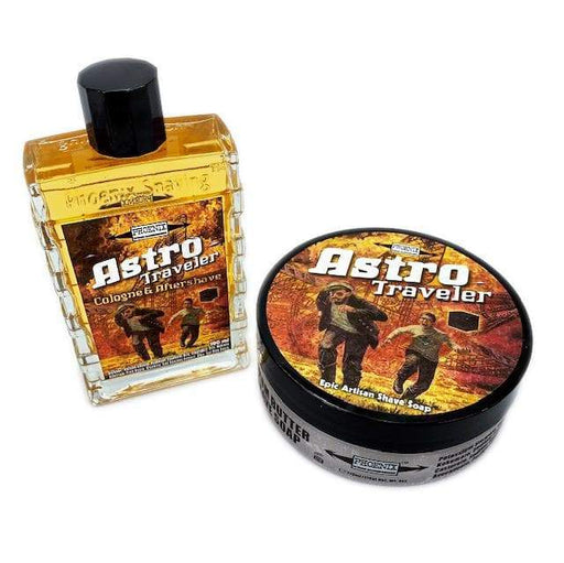 Astro Traveler Artisan Shave Soap & Aftershave Cologne Bundle Deal | Epic Fall Seasonal Scent! - Phoenix Artisan Accoutrements