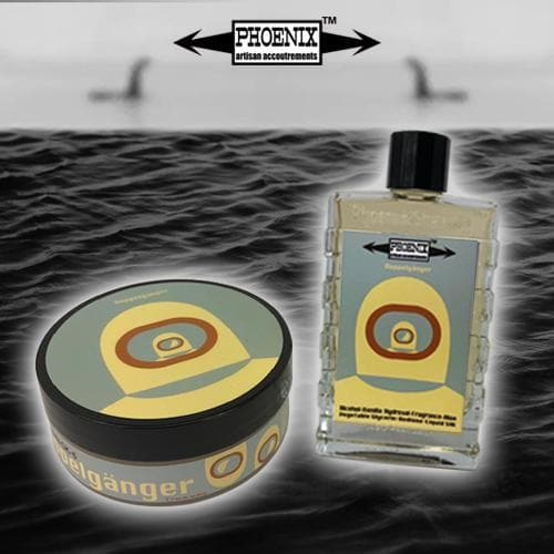 Doppelgänger Grey Label Artisan Shave Soap & Aftershave Cologne - Homage to Aventus | CK-6 Formula 5 Oz - Phoenix Artisan Accoutrements