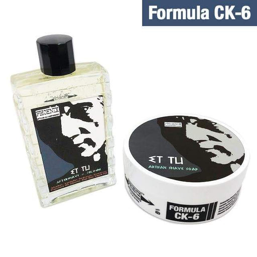 Et Tu Artisan Shave Soap & Aftershave Bundle Deal - Ultra Premium CK-6 Formula - 5 Oz | Homage to Brut - Phoenix Artisan Accoutrements