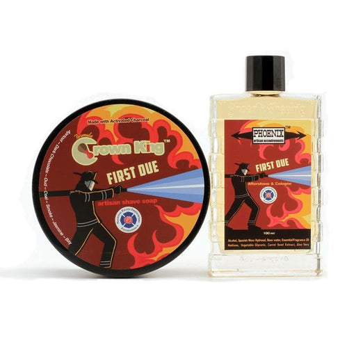 First Due Artisan Shave Soap & Aftershave Bundle Deal - A Very Epic Bundle For A Good Cause! - Phoenix Artisan Accoutrements
