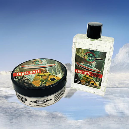 Frost Byte Artisan Shave Soap & Aftershave/Cologne | A Phoenix Shaving Chilling Favorite! - Phoenix Artisan Accoutrements