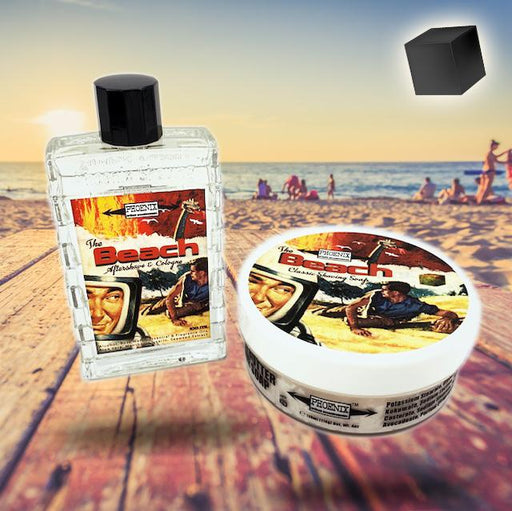 The Beach! Artisan Shave Soap & Aftershave Cologne - Bundle! - Phoenix Artisan Accoutrements