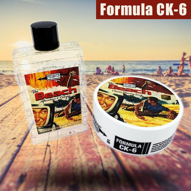 The Beach Artisan Shaving Soap & Aftershave Bundle Deal - Ultra Premium CK-6 Formula - 5 Oz - Phoenix Artisan Accoutrements