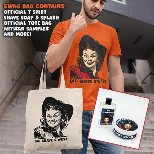 The Official Big Shave S'west 20/20 Swag Bag! | Limited Supply! - Phoenix Artisan Accoutrements